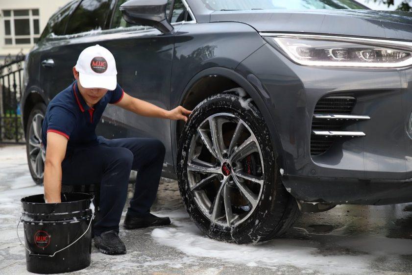 MJJC seatable washing bucket